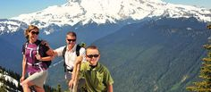 Places to hike and climb in and near Bellevue, Washington