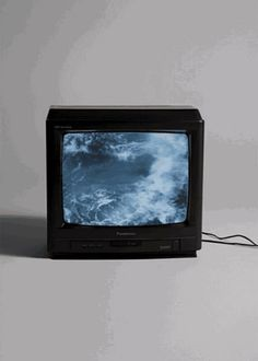 Find images and videos about gif, vintage and grunge on We Heart It - the app to get lost in what you love. Ocean Gif, Nam June Paik, Photocollage, Art Sculpture, Inspiration Art, Monochrom, Blue Aesthetic, Aesthetic Grunge, Ravenclaw