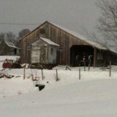 Salt box barn,vt