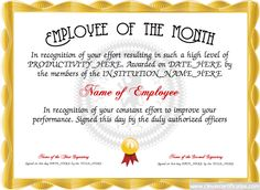 Certificate of farewell free certificate templates for for Employee of the quarter certificate template