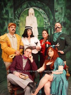 Coolest Clue Characters Group Halloween Costume... Coolest Homemade Costumes