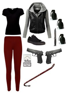 """Rockin' with the Red Hood"" by mettatheawesome on Polyvore"