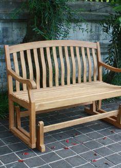 Beautiful Teak Outdoor Bench.
