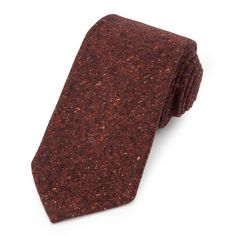 Donegal Wool (Red) Tie – Benson & Clegg