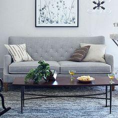 Livingston Sofa #westelm