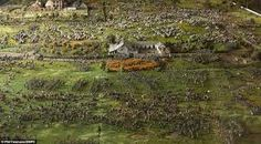 Image result for diorama waterloo 1 72