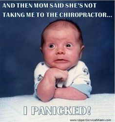 Sometimes the kids understand chiropractic before mom and dad get it. Make an appointment for even the smallest members of your family.