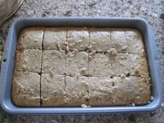 Banana Walnut Bars
