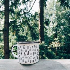 Good morning Portland. Drinking Stumptown Coffee in Forest Park.
