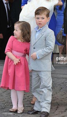 14 April 2011 - Princess Isabella & Prince Christian
