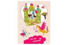 "Illustration ""For my princess"""