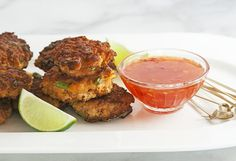 Thai fishcakes sweet chili dipping sauce