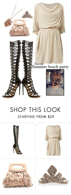 """""""Doctor: Summer Beach Party"""" by rousedobrev ❤ liked on Polyvore featuring Paul Andrew, Cameo Rose, Chanel and JoÃ«lle Jewellery"""