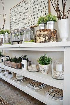 DIY Dining Room Buffet -