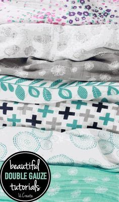 What is double gauze? Why is it so popular in the sewing world? Check out these beautiful double gauze tutorials!