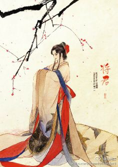 Chinese painting. Hanfu  汉服 RP by splashtablet.com, the cool iPad for showering with your tablet ;)