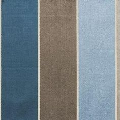 brown and blue stripe fabric   Astoria Velvets Fabric Collection   Clarke and Clarke   Curtains ...