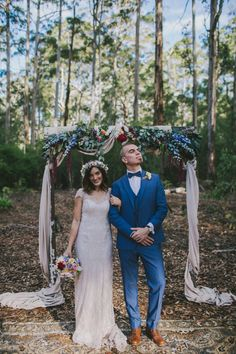Australian bush wedding at Donnelly River | Photography by Jenna Mason