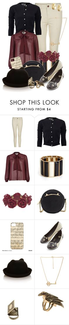 """""""Warnings at Waverly Academy"""" by detectiveworkisalwaysinstyle ❤ liked on Polyvore featuring Boutique Moschino, River Island, BaubleBar, Wet Seal, Betsey Johnson, T.U.K., Accessorize, Forever 21, ASOS and Maria Nilsdotter"""
