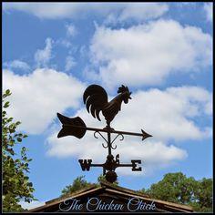 Chicken coop weather vane via The Chicken Chick
