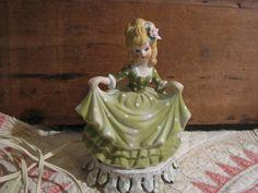 1950s Aladdin Giftware porcelain figurine night light