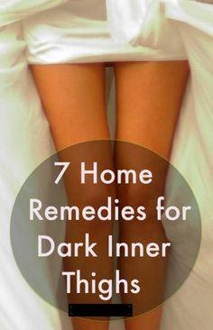 7 Home Remedies For Dark Inner Thighs#Skin&Body#Trusper#Tip