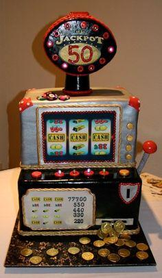 Slot machine-led lights-anniverssary cake-the cake zone- tampa-sarasota-fl Jack O'connell, Porsche, Audi, Funny Videos, Car Videos, Nascar, Cars 1, Slot Cars, Las Vegas