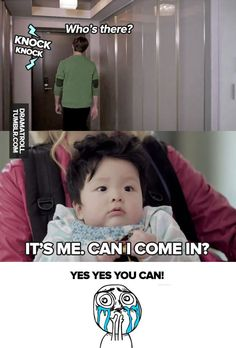 Emergency Couple...How could you say no to that little face.