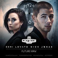 Future Tour Now   Demi Lovato and Nick Jonas