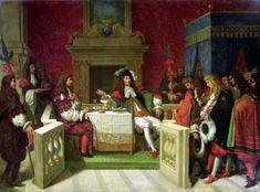 La tavola del re Sole era ricca ed elegante, il re mangiava in pubblico per ostentare il suo potere