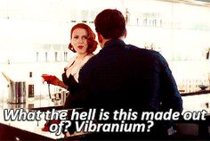 Scarlett in Age Of Ultron bloopers