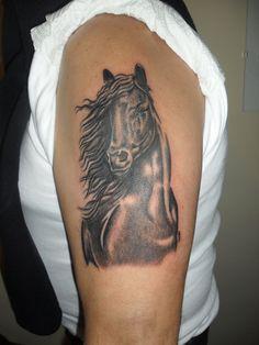 caballo brazo
