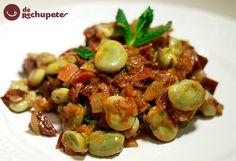 Un plato basado en un plato tradicional de la cocina granadina, aunque con alguna variación. Perfecta para una cena primaveral, rápida, fácil y barata.