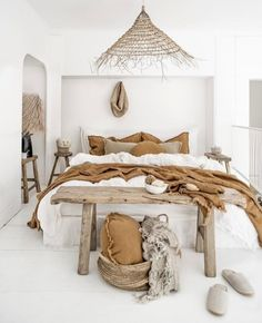 around the bed decor * around bed decor ; wall decor around bed ; decorate around bed ; decorating around bed ; around the bed decor ; bedroom decor around bed ; decorating around a murphy bed ; decor around bed headboards Bedroom Inspo, Home Decor Bedroom, Diy Bedroom, Bedroom Storage, Bedroom Ideas, Bedroom Designs, Linen Bedroom, Bedroom Decor Natural, Nature Bedroom