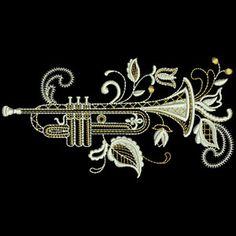 Jacobean trumpet