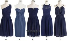 MONACO BLUE Bridesmaid dress/strapless/sheath by Dressfan on Etsy, $66.00