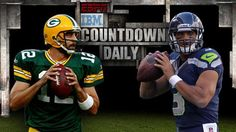 Aaron Rodgers vs Russell Wilson on Monday Night Football #Packers CAN'T FREAKING WAIT FOR FOOTBALL SEASON