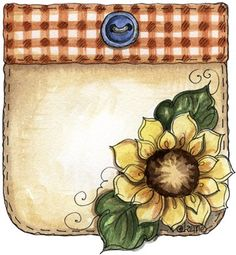 imagem de coupage clipart espantalho Autumn Pocket