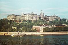 The Royal Palace in the Buda Castle, Royal Residence, Royal Palace, Paris Skyline, Architecture, City, World, Places, 1930s