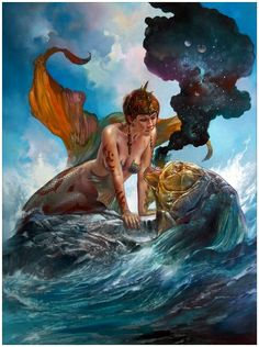 From The Sea To The Cosmos by Boris Vallejo