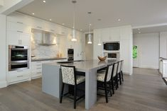 grey hardwood | Graceful Grey Hardwood Floors home remodel Image credit and contact ...