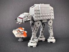 Lego Star Wars Mini, Micro Lego, Lego Pictures, Lego Mecha, The Force Is Strong, Lego Models, Lego Technic, Legos, Star Trek
