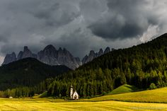 Dark clouds - Due to a cancelation there is now one seat available on the Dolomites June 2016 photo workshop. Contact me if you are interested.   This photo was shot during  the Dolomites June 2015 photo workshop.