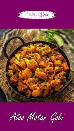 Aloo Recipes, Paratha Recipes, Spicy Recipes, Curry Recipes, Veg Sabji Recipe, Chaat Recipe, Biryani Recipe, Best Aloo Gobi Recipe, Aloo Gobi Matar Recipe