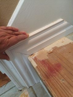 Best How To Install Baseboard On Stairs Good To Know Stairs 400 x 300