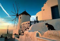 This undated picture shows sunset at the island of Santorini. Voted the world´s best island by Travel + Leisure magazine in 2011 Lonely Planet, Monuments, Top 10 Destinations, Antarctica Destinations, Santorini Island, Travel And Leisure, Greek Islands, Places To See, Tourism