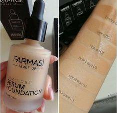 Foundation Primer, Makeup Foundation, Makeup Goals, Makeup Kit, Beauty Bar, Beauty Makeup, Serum, Mac Lipstick Shades, Farmasi Cosmetics