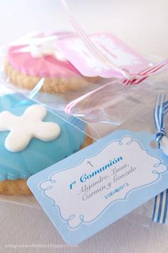 Cookies of a 1st communion of four children