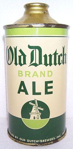 Vintage Beer Can #vintage #product #packaging