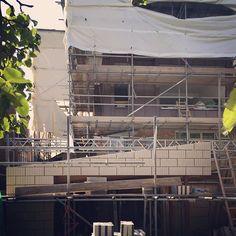 Alexandra Drive | Emerging - theres a building in there somewhere... . . . #extension #loft #loftextension #architecture #RIBA #architect #blockwork #forticrete #zinc #vmzinc #dontmoveimprove #london #surrey #surbiton #berrylands #studioSH Surrey, Loft, London, Architecture, Building, Arquitetura, Buildings, Lofts, Architecture Design